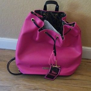 Hot pink Juicy Couture backpack
